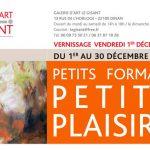 invitation exposition danielle delgrange, galerie le gisant, dinan