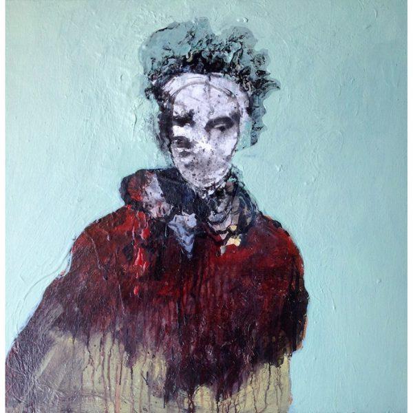 alain gegout, portrait peinture contemporaine