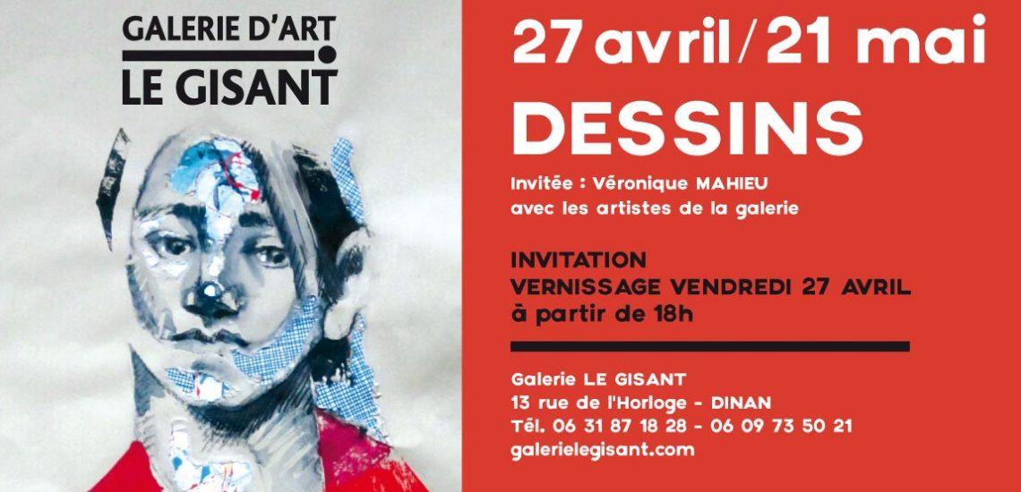invitation dessin galerie le gisant