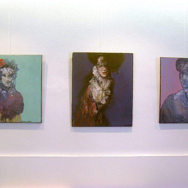 Alain gegout, galerie le Gisant, Dinan
