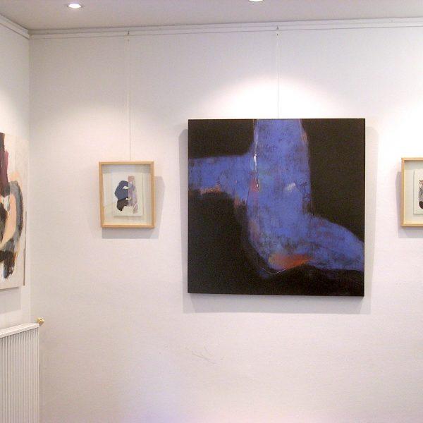 Peinture à la galerie Le Gisant à Dinan