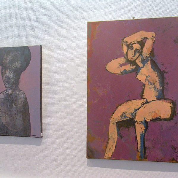 Peintures à la galerie Le Gisant à Dinan