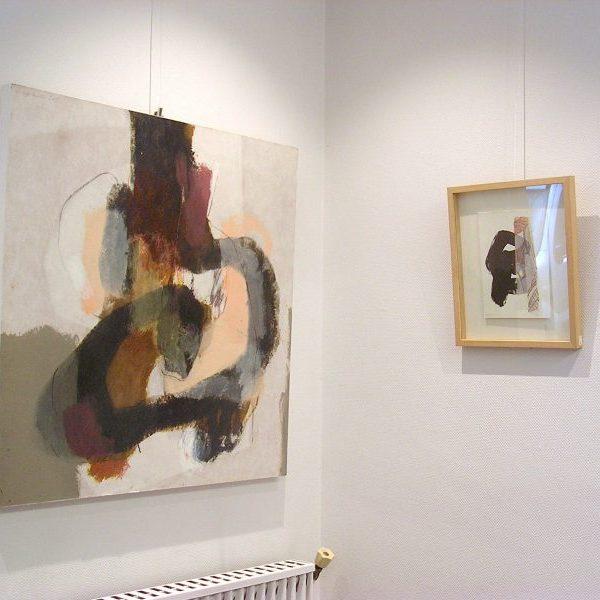 peinture contemporaine, philippe lecomte, galerie le gisant, dinan