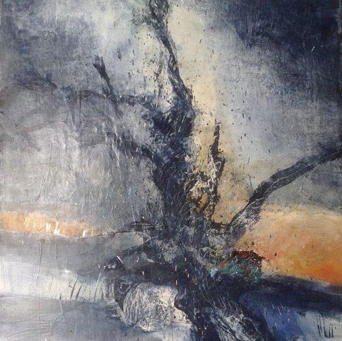 peinture abstraite de Alain Gegout