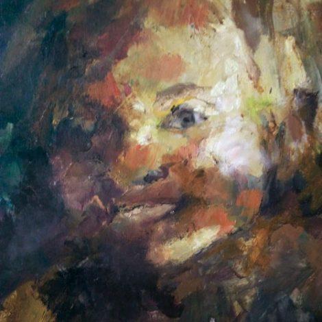 portrait d'enfant par Danielle delgrange, galerie le gisant à dinan