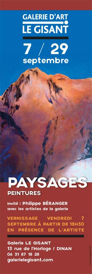 philippe béranger peintre paysages