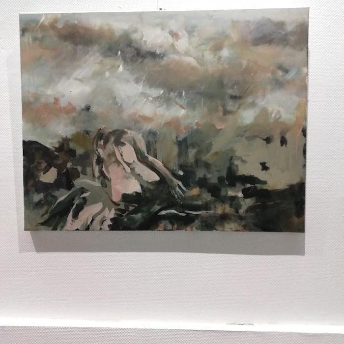 Danielle DELGRANGE, galerie le Gisant, Dinan