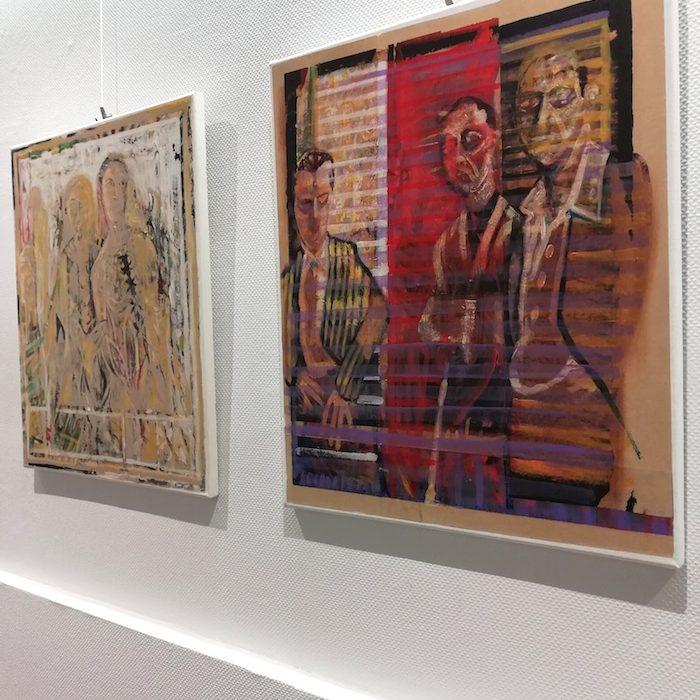 fabrice rabin, galerie le Gisant, Dinan