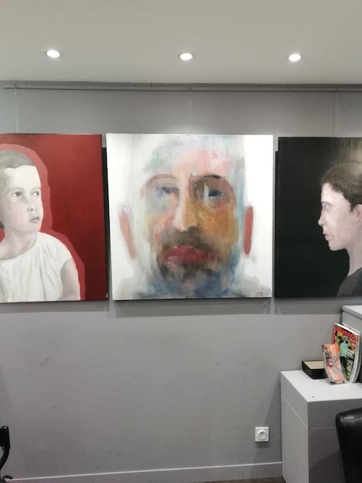 peinture Frédéric lecaime galerie le gisant