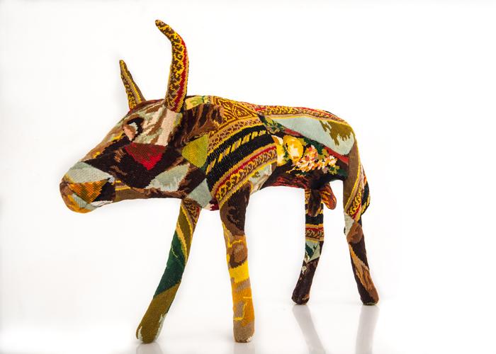 buffle sculpture textile céline jegou galerie le gisant dinan