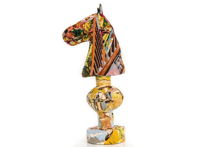 cheval sculpture textile céline jegou galerie le gisant dinan