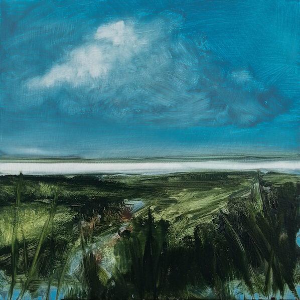 paysage fabienne monestier peinture art contemporain galerie le gisant dinan