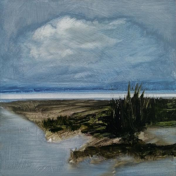 fabienne monestier peinture art contemporain galerie le gisant dinan paysage