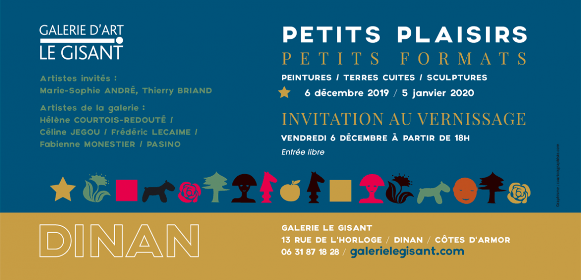 invitation vernissage galerie le gisant
