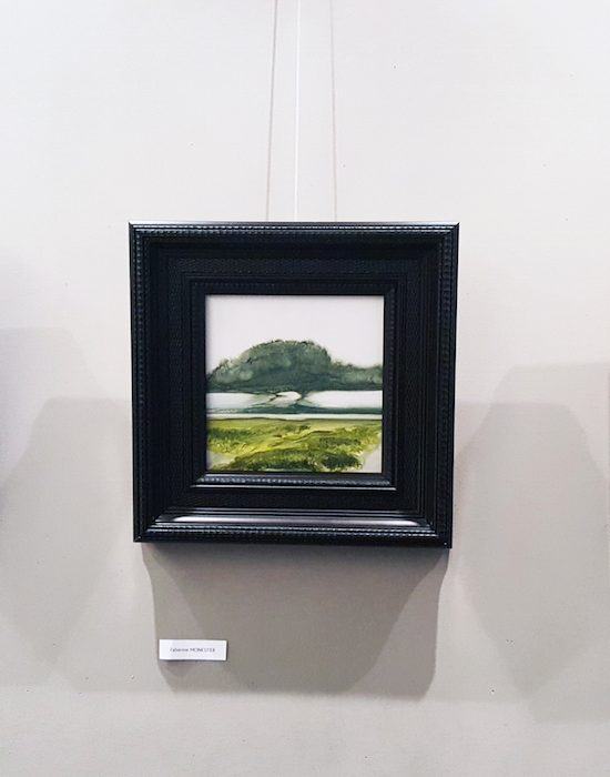 peintures de paysages encadrés