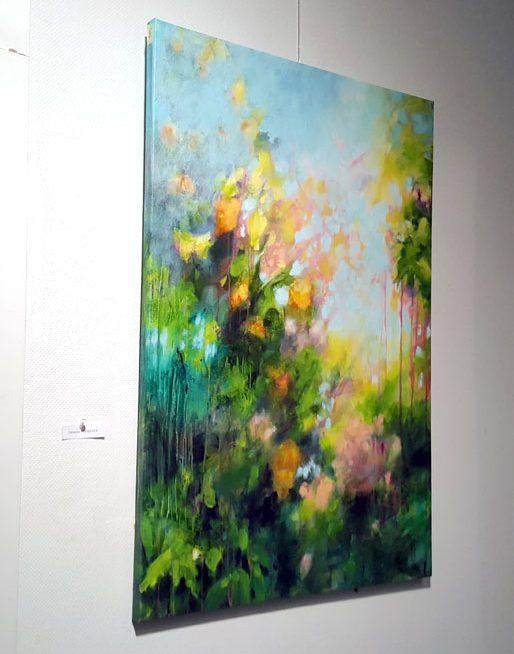 peinture de fleurs et végétaux