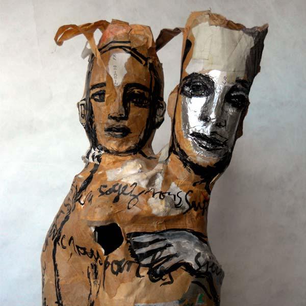 poupée mère et enfant de marie-sophie andré