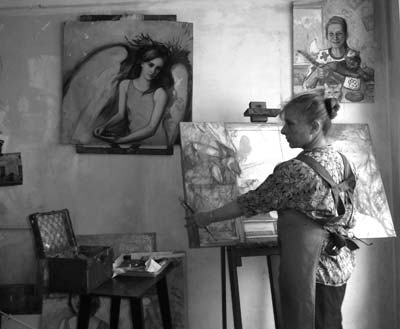 atelier artiste peintre marie-sophie andré