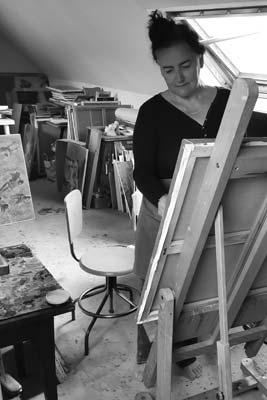 femme artiste peintre sandra d'angeli