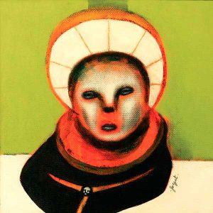 Les Penseurs n°2, peinture contemporaine