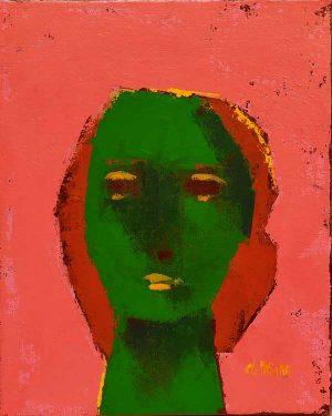Maschera I, peinture