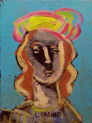 portrait de hasard, peinture