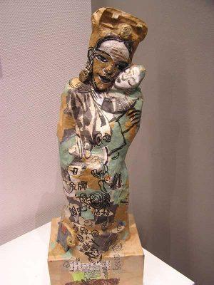 rihanna sculpture papiers