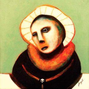 Les Penseurs n°1, peinture contemporaine