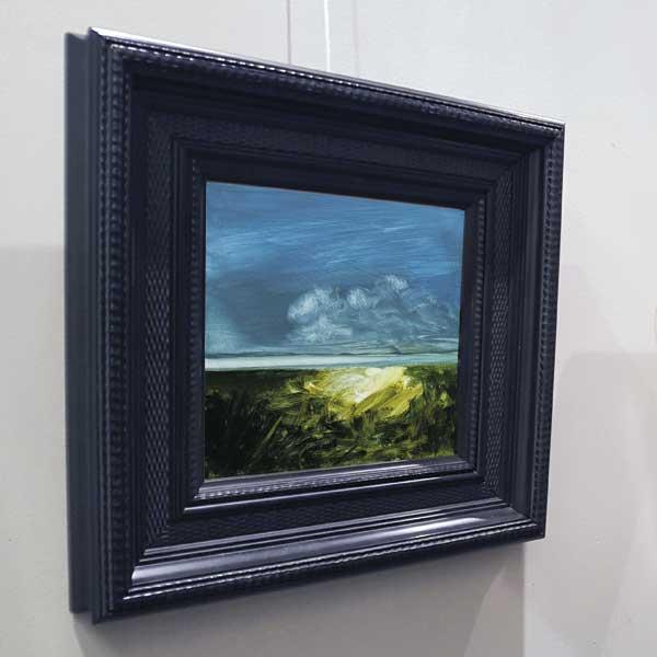 paysage avec cadre noir
