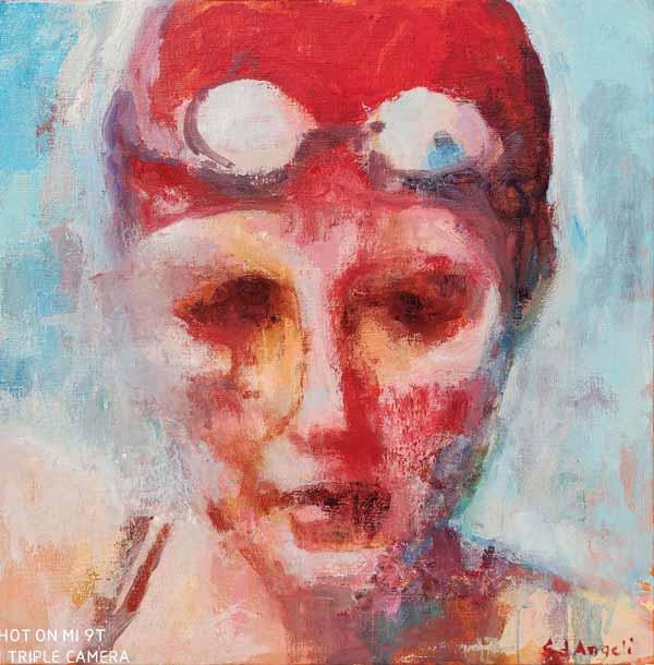 bonnet rouge piscine